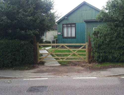 Gate Replacement – WI Hanningfield