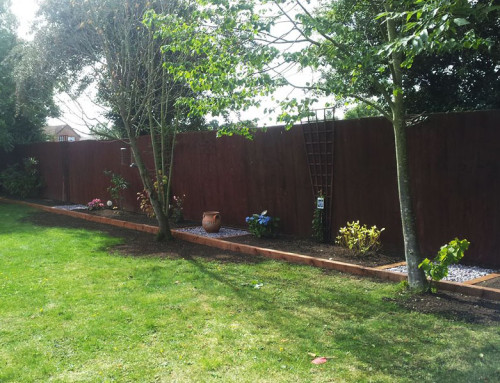 New Flower Bed – Purleigh