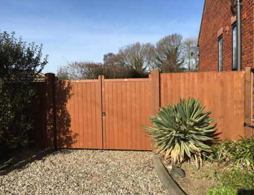 Gate, Posts & Fence – Danbury