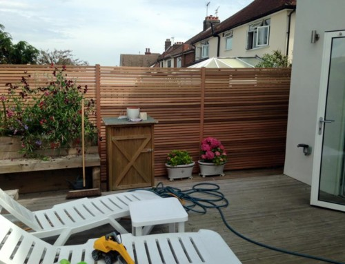 Batten Fence Screen – Chelmsford