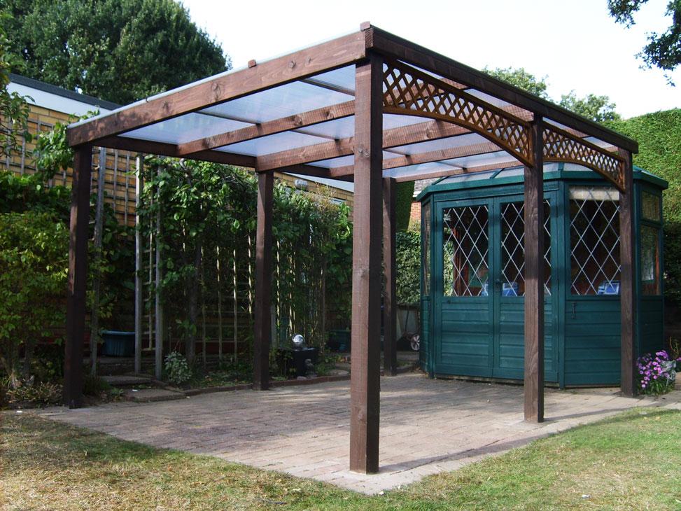 Garden Pergola Construction