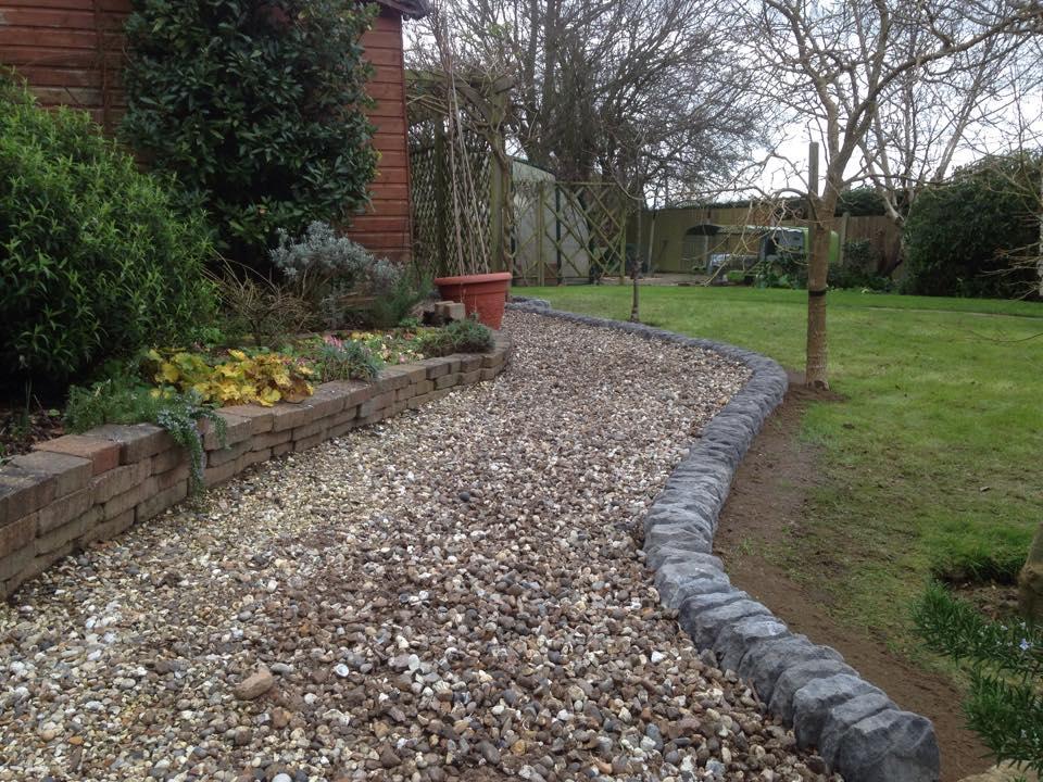 Stone Edging Landscaping – Danbury, Chelmsford