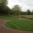 Turfed Grass Circle Lawns 2